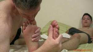 Toe Sucking Guys - Derick and Josh