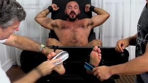 Hairy Stud Alessio Romero Gets Tickle Tortured - mff0577_alessiotic 2