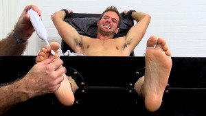 Dark Haired Hunk Dane Tickle Tortured - Dane