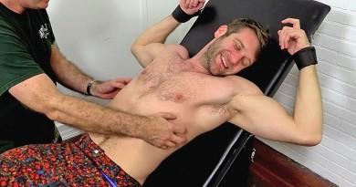 Stud Colby Keller Tied Up and Tickle Tortured - Colby Keller