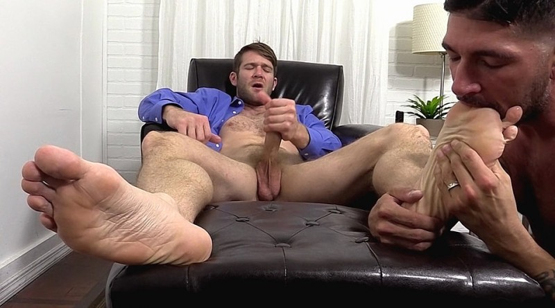 Colby Keller and Johnny Hazzard Worship Each Others Feet - Colby Keller and Johnny Hazzard