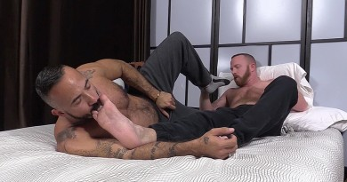Red and Alessio Romero Worship Each Others Feet - Red and Alessio