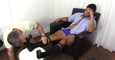 RJ's Dress Socks and Size 13 Feet Worshiped - RJ