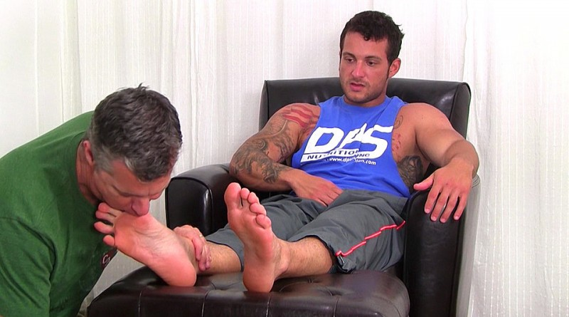 Marine Ned Dominates Me With His Size 10 Feet - Ned