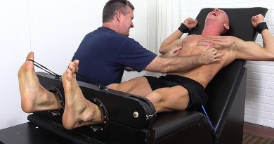 Cristian Tickled In The Tickle Chair - Cristian