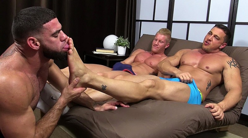 Ricky Hypnotized To Worship Johnny and Joey - Johnny/Joey