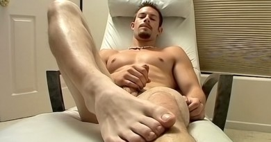 Hot Str8 Jock Foot Show - Mike Roberts
