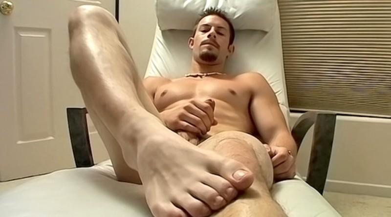 Hot Str8 Jock Foot Show - Mike Roberts