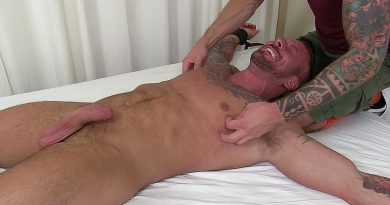Hugh Hunter Bound and Tickled Naked