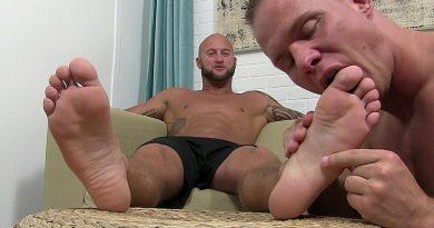Jason Wins A Foot Massage From Austin