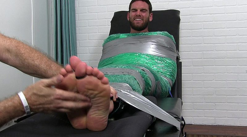 Chase Mummified and Tickle Tortured