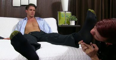 Sergey Foot Worshiped By Justin Case