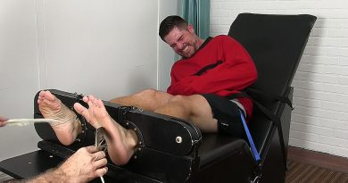 Clint Detained and Tickle Tortured