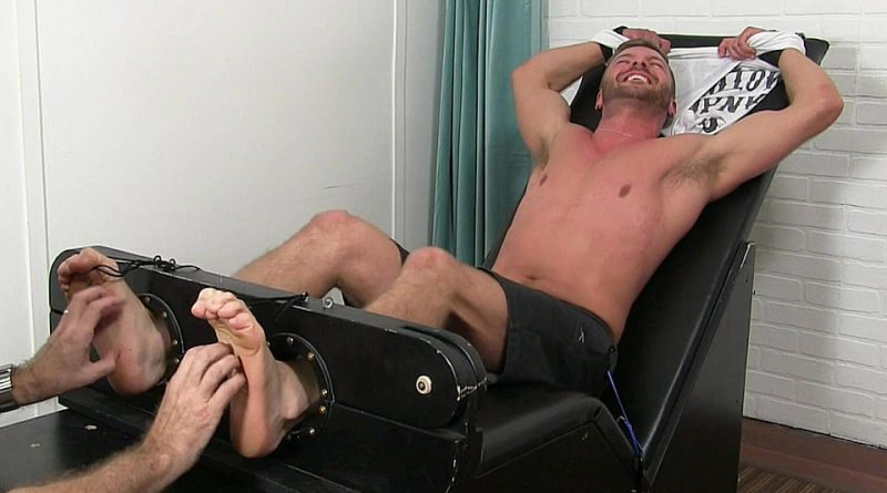 Sean Holmes Tickled Naked