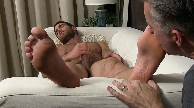 Chase Lachance Foot Worshiped In A Dream