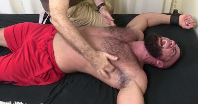 Ricky Larkin Gets Tickled Naked