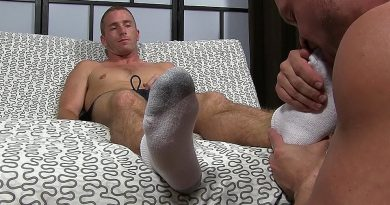 Daxton Worships Scott's Socks and Feet