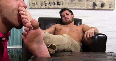 Alex Gray Foot Worshipped