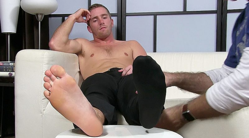 Scott Has A New Foot Slave