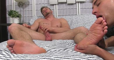 Ryan Sparks' Foot Worshipped for the First Time