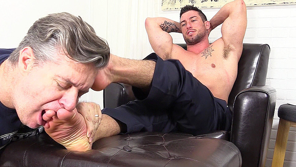Male feet slave gay thug boy bentley is all 4