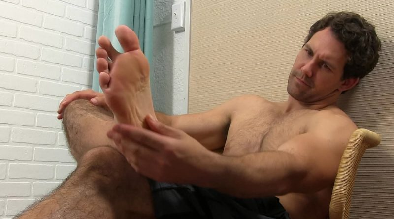 Jet's Sweaty Socks and Bare Feet