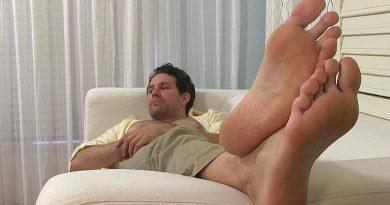 Spy On Jet's Dress Socks & Manly Feet