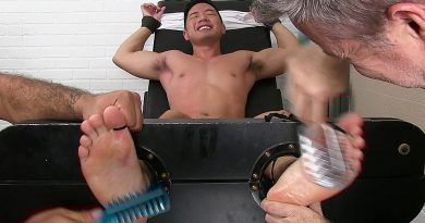 Cooper's Tickling Audition