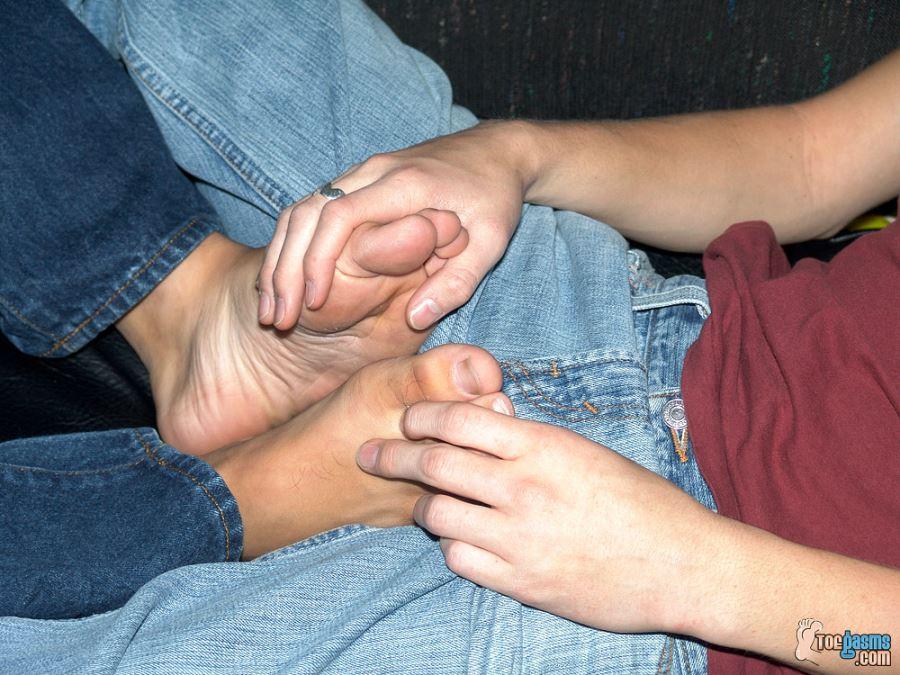 Foot Friends: Shane Allen and Ryan