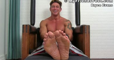 Bryce Evans Gets More Ticklish 10