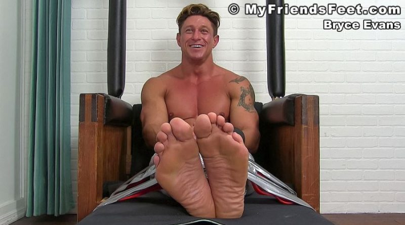 Bryce Evans Gets More Ticklish 10