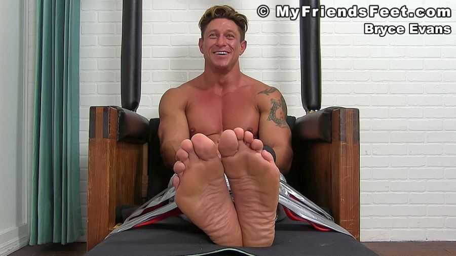 Bryce Evans Gets More Ticklish