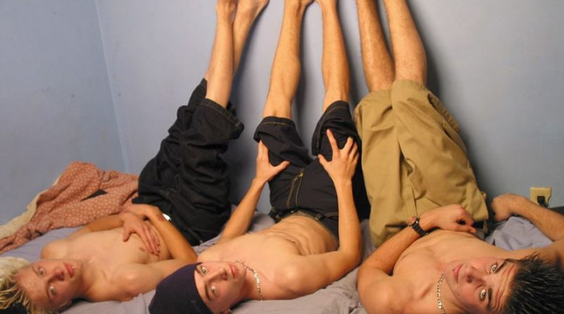 Straight Boys Foot Fun Party