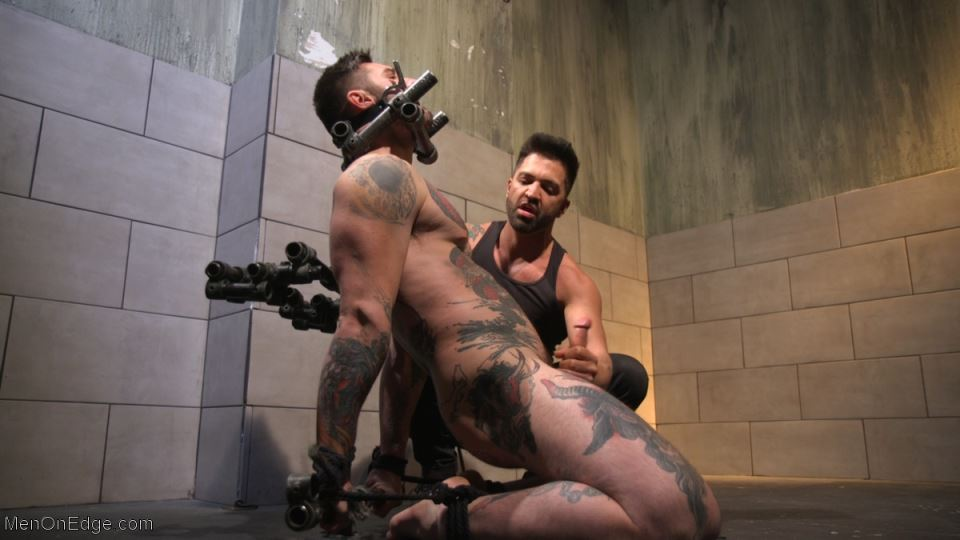 Teddy Bryce Gets Edged And Foot Worshiped
