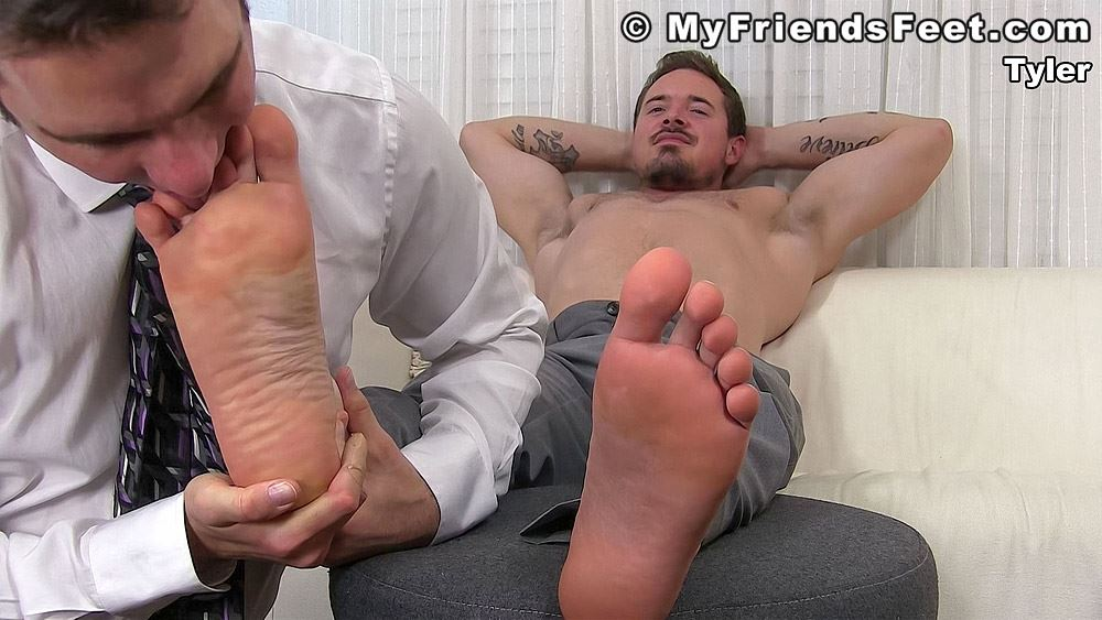 Tyler Brown's Feet