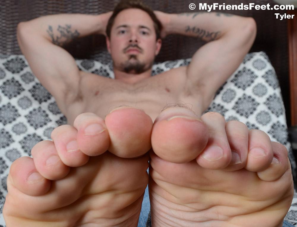 Tyler's Size 11 Feet & Flip-Flops