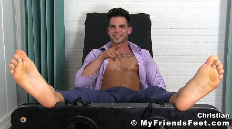Christian's Tickling Video 9