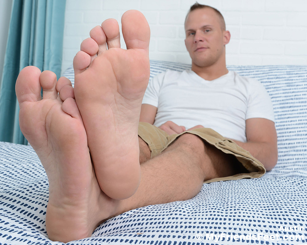 Austin Andrews' Big Male Feet
