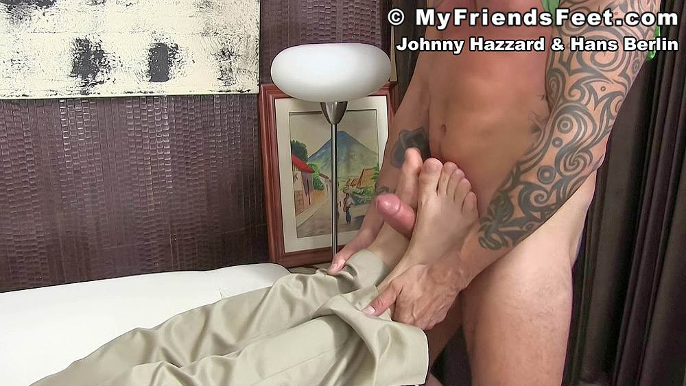 Johnny Hazzard Fucks Hans Berlin's Feet