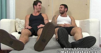 Chase Lachance and Sergey Foot Worshiped 1
