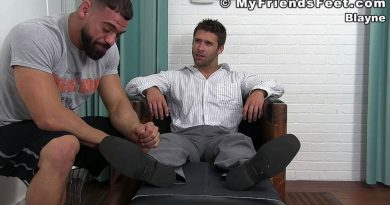 Feet Tickling: Ricky Larkin and Blayne 1