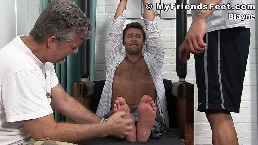 Feet Tickling: Ricky Larkin and Blayne