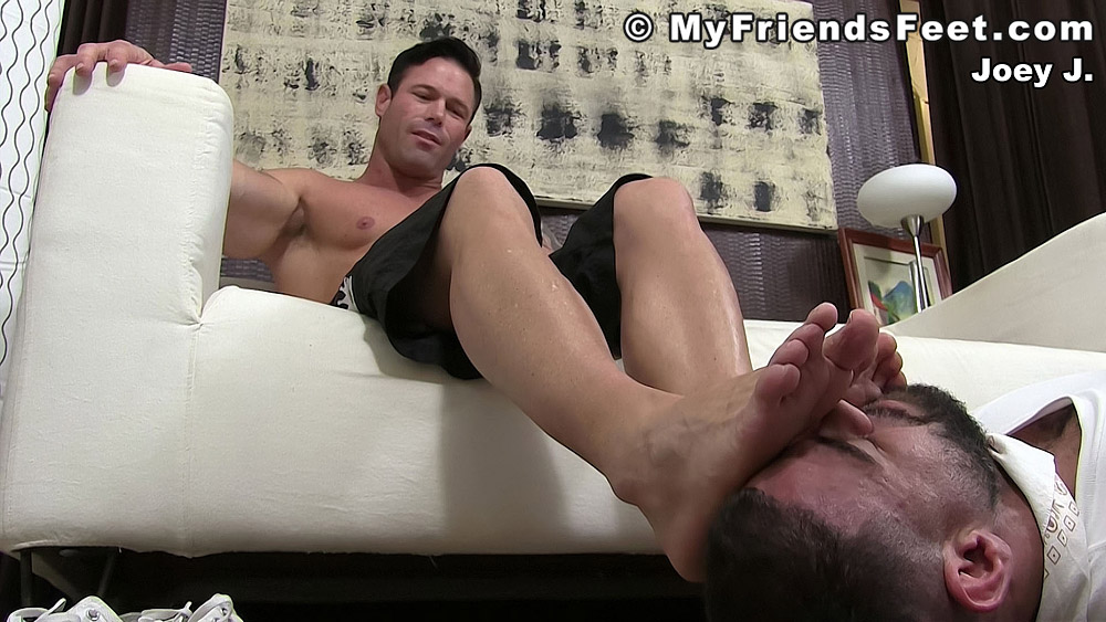 Truth or Dare Foot Worship - Ricky Larkin and Joey J