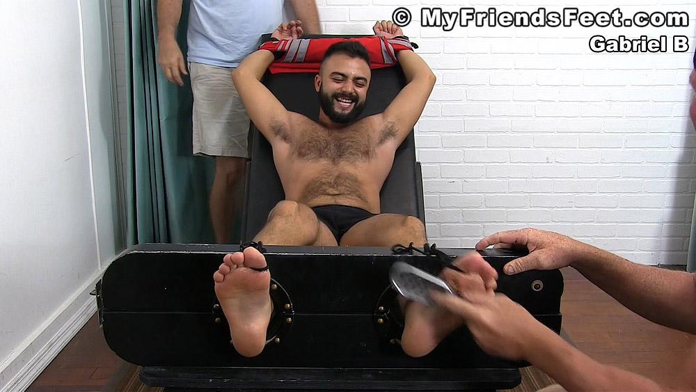 Gabriel Fulfills His Tickling Fantasy