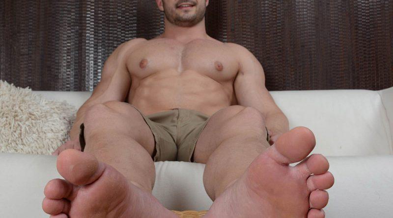 Derek Bolt's Masculine Feet