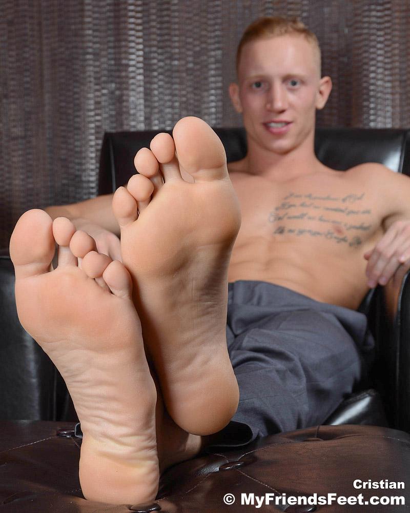 Cristian's Size 13 Feet and Dress Socks