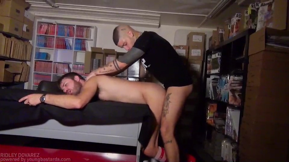 Licking Cum From His Foot