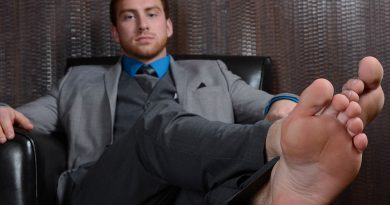 Connor Maguire - Suited, Socked & Barefoot