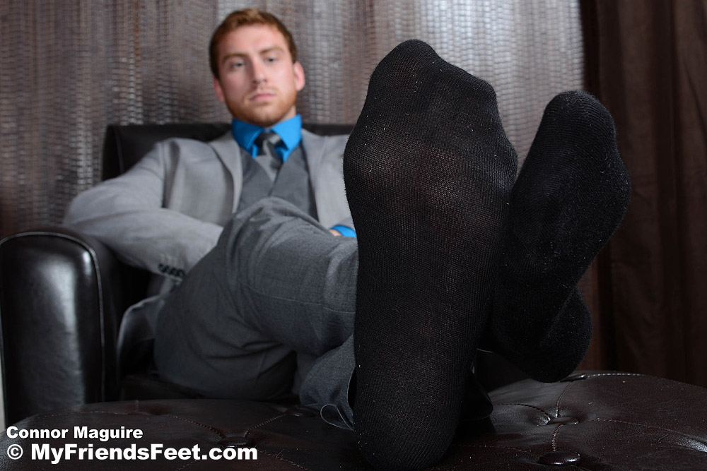 Connor Maguire - Suited, Socked & Barefoot 3