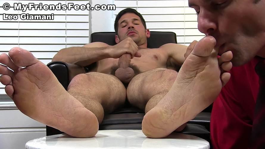 Boss Leo Giamani's New Foot Intern 4